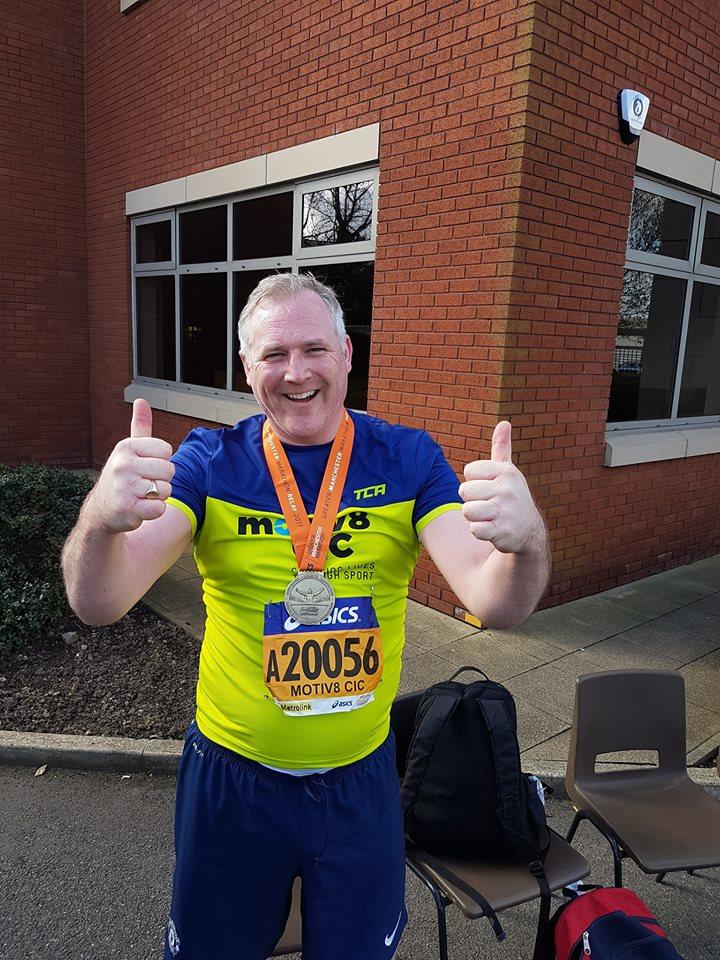 Manchester Marathon press